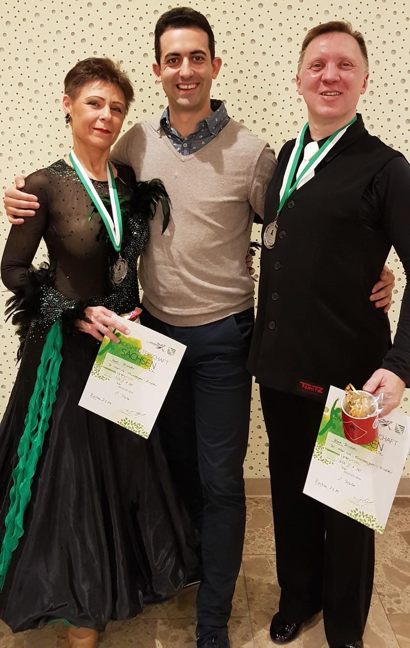 Uwe und Marina mit Jonatan